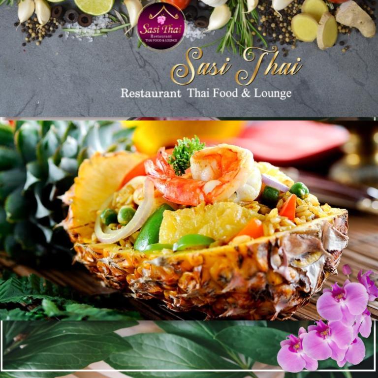 Maaltijd gemaakt in Sasi Thai Restaurant